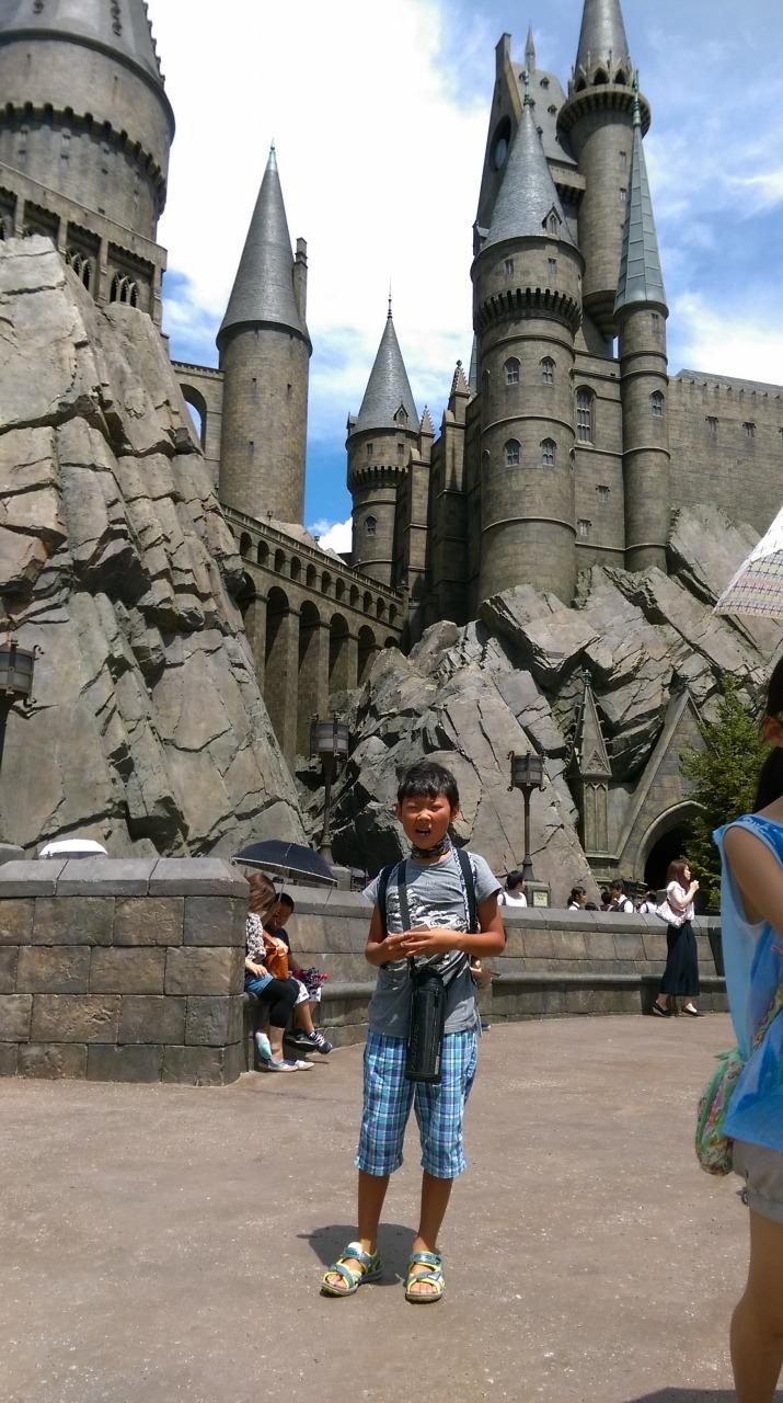 ホグワーツ城!!!!